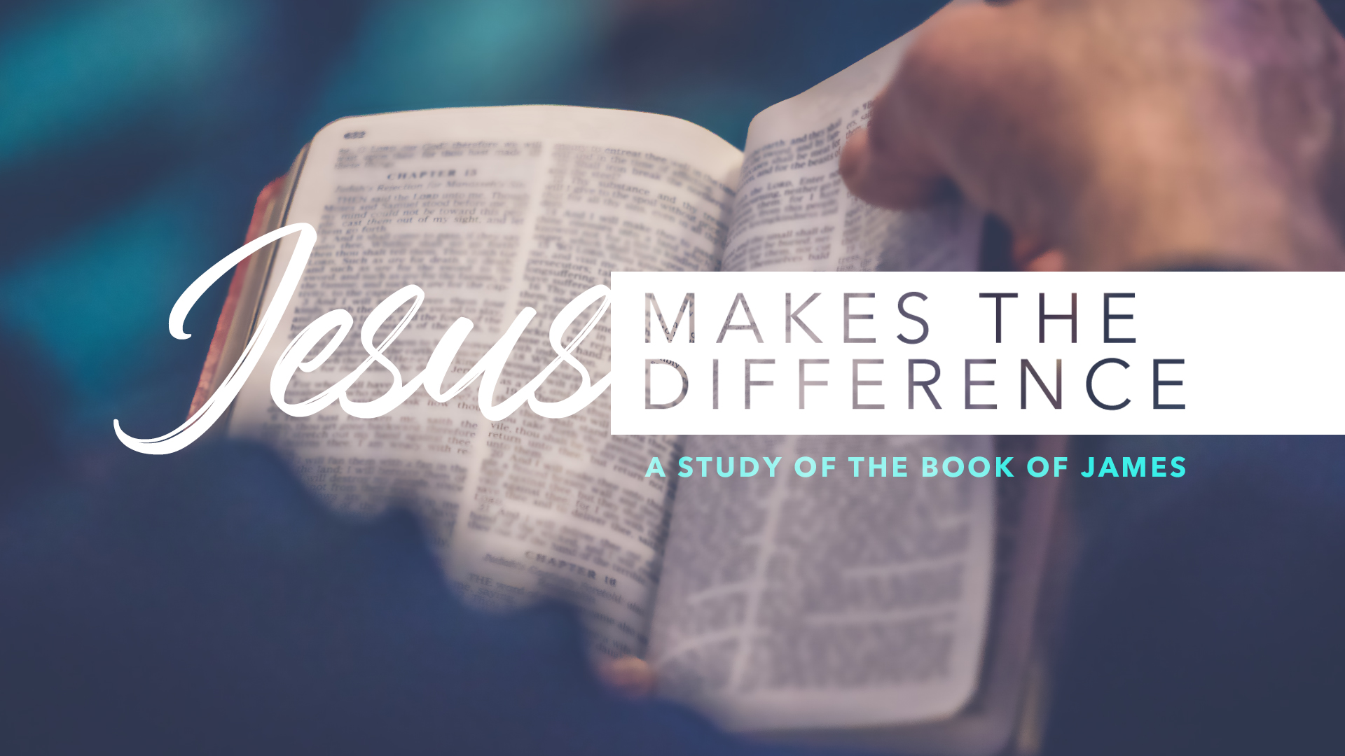 How I Speak - Jesus Makes the Difference
