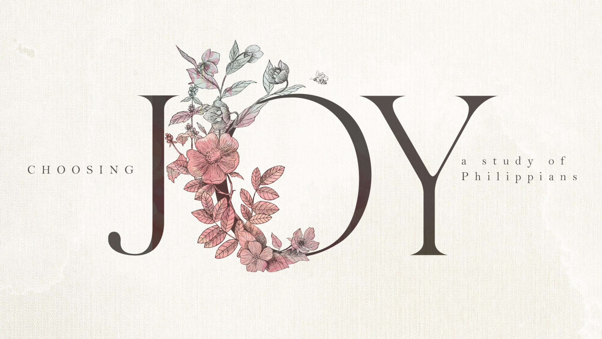 Joy Through Servanthood